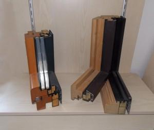 Gamme de menuiseries extérieures bois-alu à fortes performances énergétiques