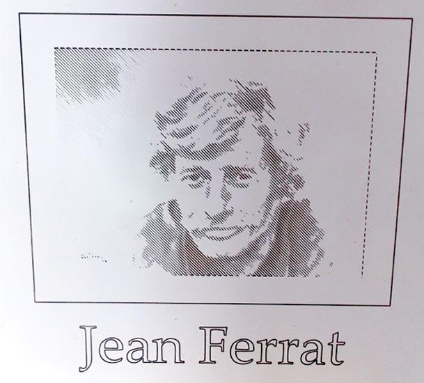 Gravure Jean Ferrat