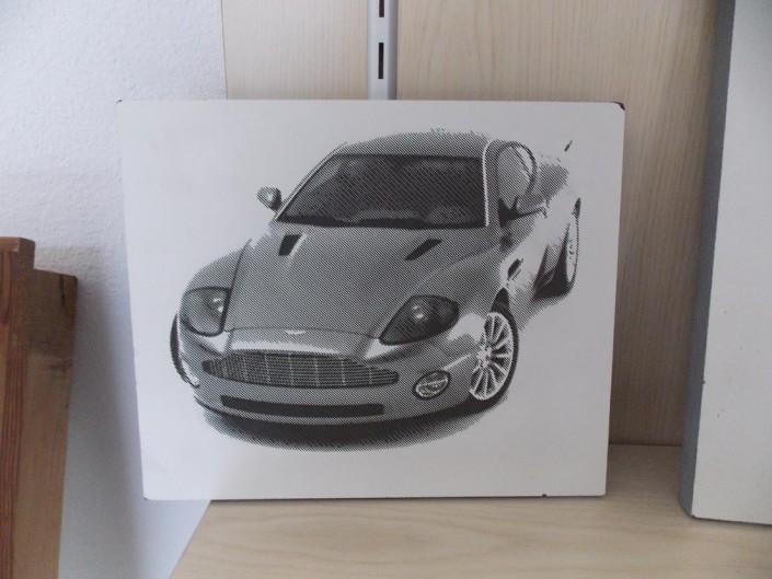 gravure voiture
